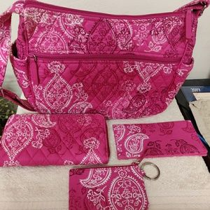 Vera Bradley Handbag set
